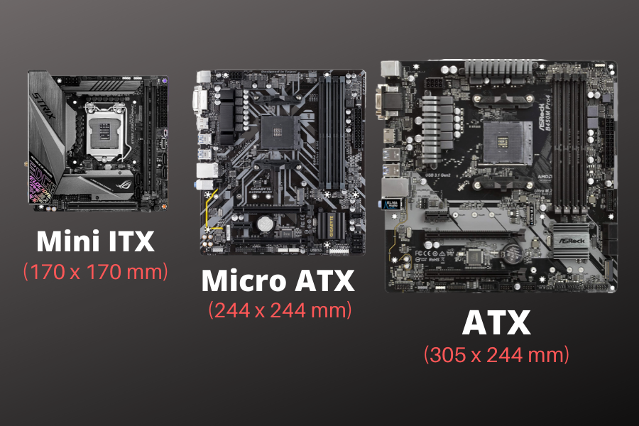 Micro ATX vs Mini ATX vs ATX Best Motherboard for you?