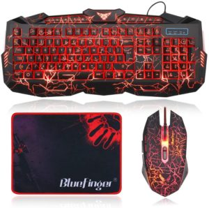 BlueFinger Gaming Keyboard under 50$