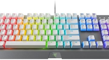 Razer Blackwidow X Chroma White Gaming Keyboard