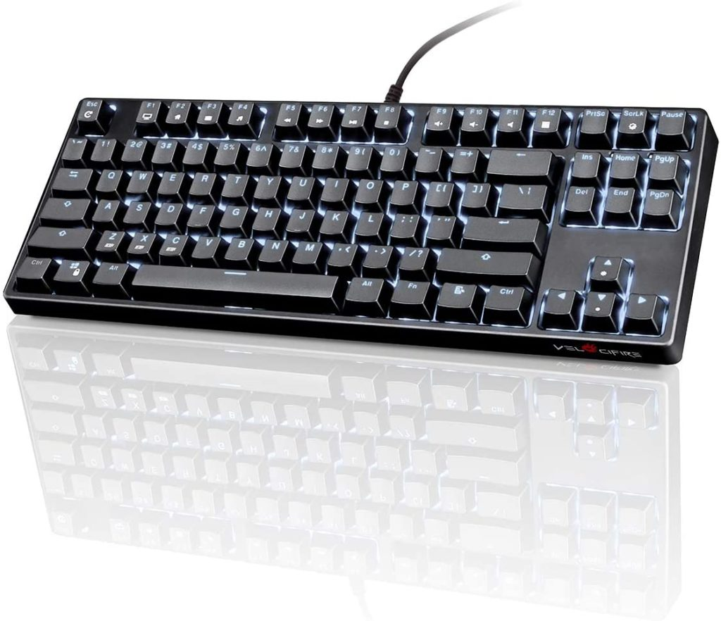 Velocifire TKL02 Gaming Keyboard under 50$