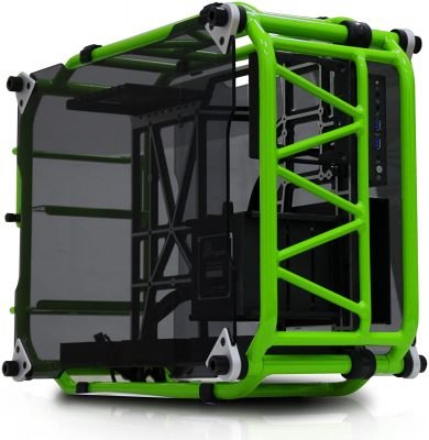 In Win Signature Motorcycle Steel Tube ATX Open Air Pc Case